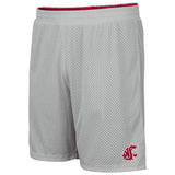 Mens Crimson and Grey Reversible Shorts