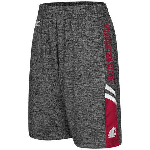 Kid's WSU Grey Basketball Shorts