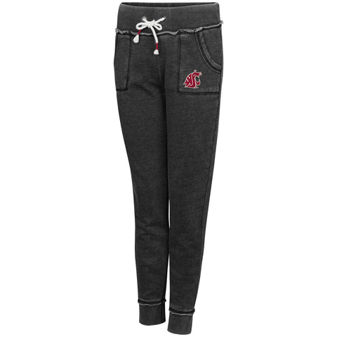 Women's Charcoal Grey WSU Joggers