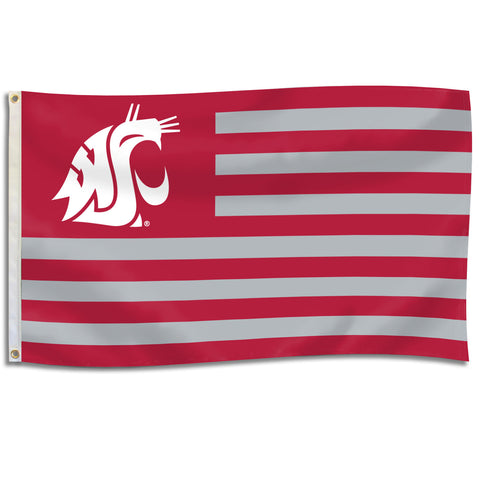 WSU Coug Nation Flag