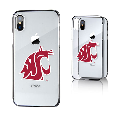 WSU Cougar's Clear iPhone Case