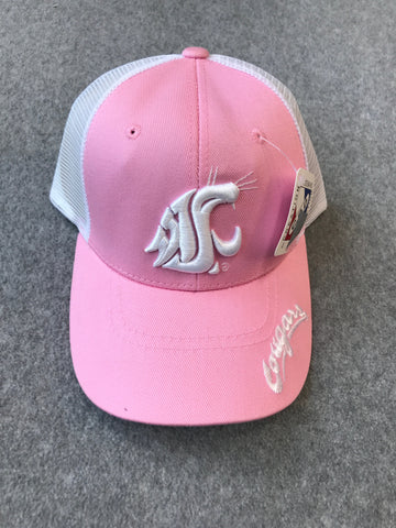 Pink WSU Adjustable Hat