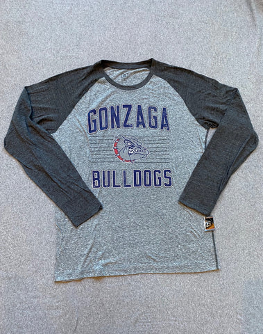 Grey Men's Gonzaga Long Sleeve