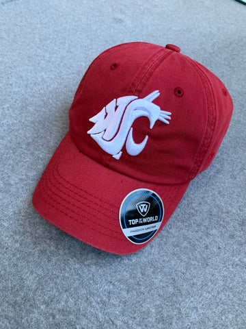 Crimson Crew Washington State Adjustable Hat
