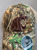 Camo Washington State Cougars Adjustable Hat