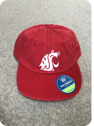 Crimson WSU Infant Baseball Hat