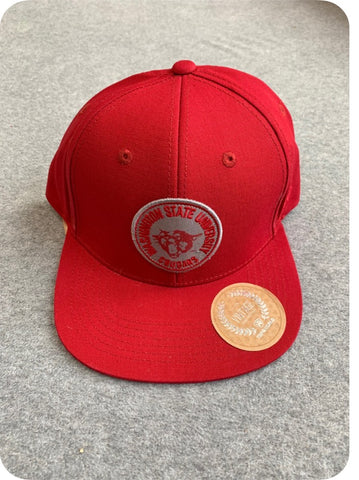 Crimson Washington State University Flat Bill Hat