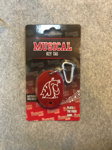 WSU Musical Key Chain
