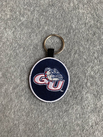 Gonzaga University Embroidered Key Chain