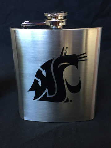 Stainless Steel WSU Flask