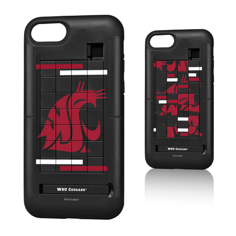 WSU Black Puzzle Phone Case iPhone 7/8