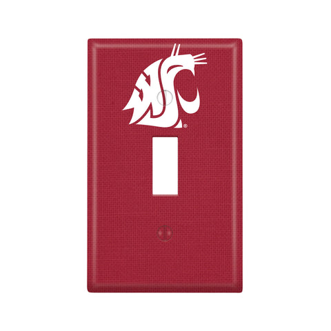 Crimson WSU Single Light-Switch Cover