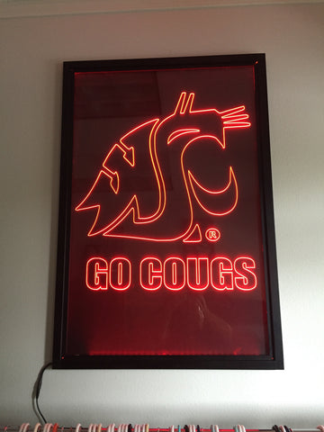GO COUGS LED Light