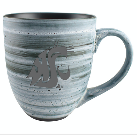 New Grey Ceramic Cougar Coffee Mug