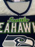 Ladies Seattle Seahawks Mesh Top short sleeve