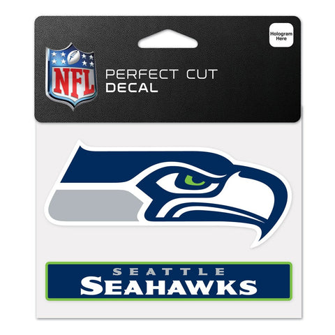 4 X 4 Seattle Seahawks Logo Decal