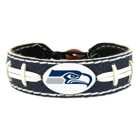 Seahawks Leather Bracelet