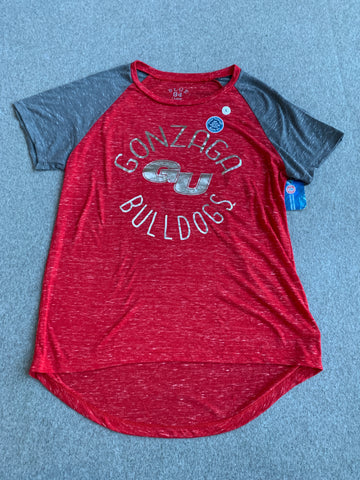 Womens Gonzaga Bulldogs Red Shirt