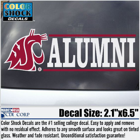 WSU Alumni Decal
