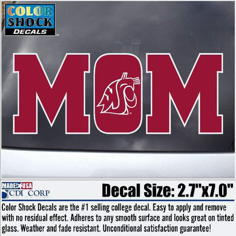 WSU Mom Decal