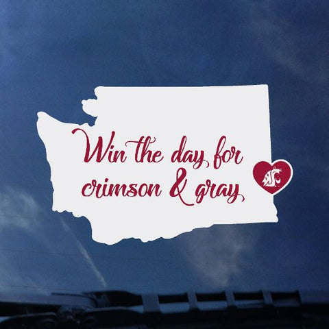 Win the Day Decal