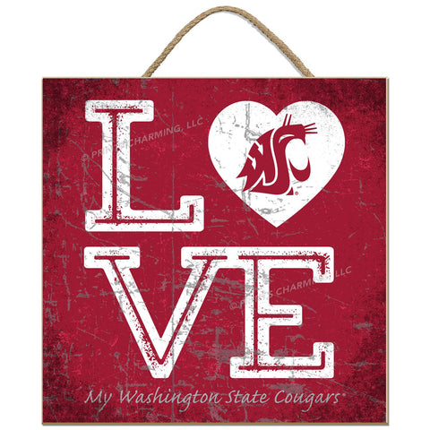 WSU LOVE Sign