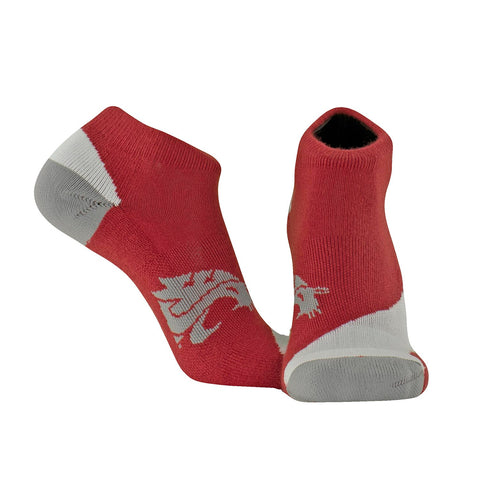 TCK Ankle WSU Crimson Socks