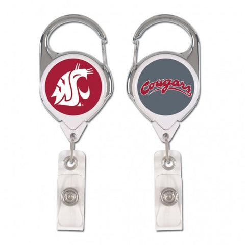WSU Cougars Premium Badge Holder