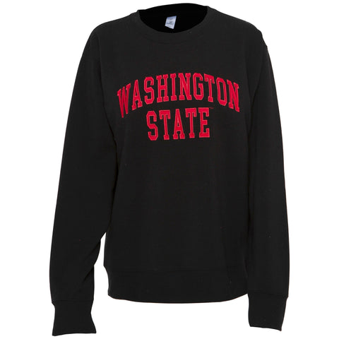 Black Washington State Crewneck