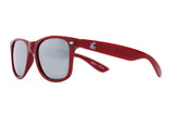 WSU Crimson Wayfarer Sunglasses - Side View