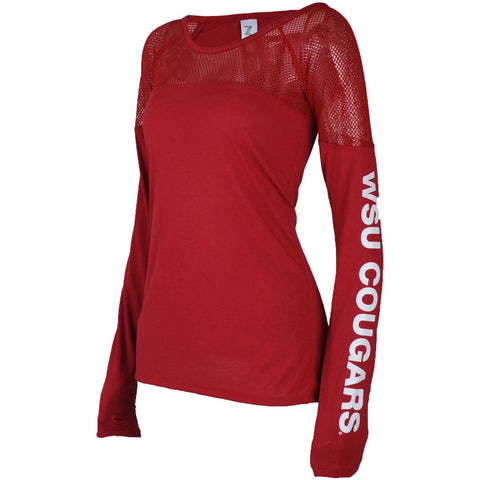 Cougars Mesh Long Sleeve T-Shirt