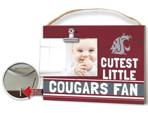 Cutest Little Cougars Fan 10x8 Clip it Photo Plaque
