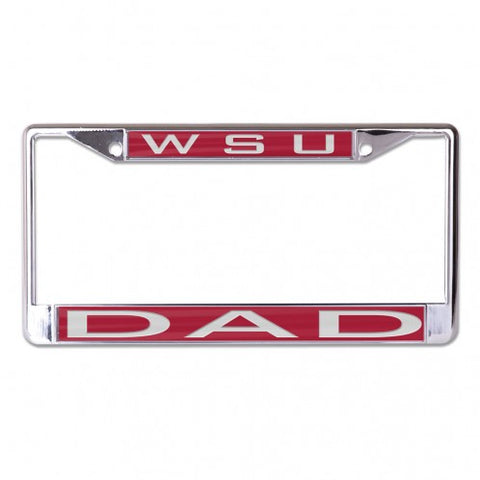 WSU DAD License Plate Frame