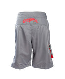Mens Grey Cougar Board Shorts