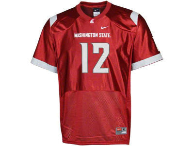 WSU Cougars Youth Football Jersey