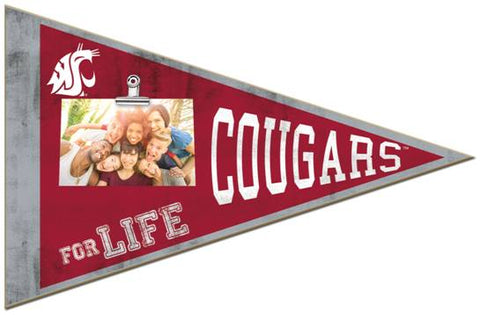 WSU Pennant Clip-It Picture Holder