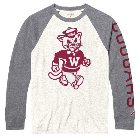 Victory Falls Butch Long Sleeve Baseball Tee