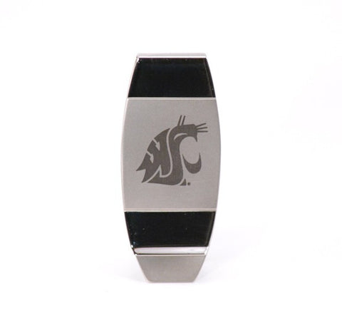 Silver Cougar Money Clip