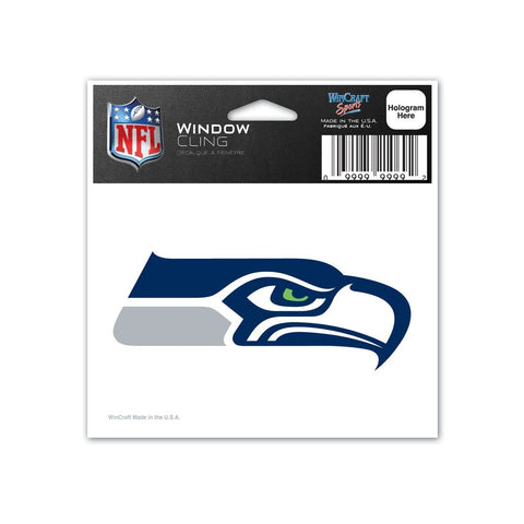 Seahawks Window Cling Decal