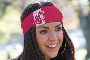 WSU Cougar Wrap Headband