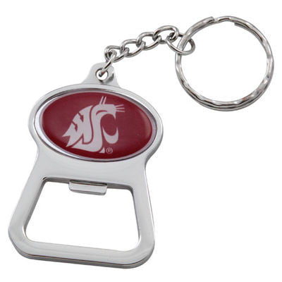 WSU Cougars Bottle Opener Key Chain