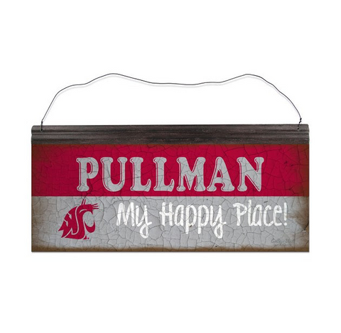 """Pullman My Happy Place"" Metal Sign"