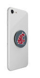 WSU Cougar Logo Grey Popsocket