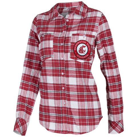 Women's WSU Plaid Flannel