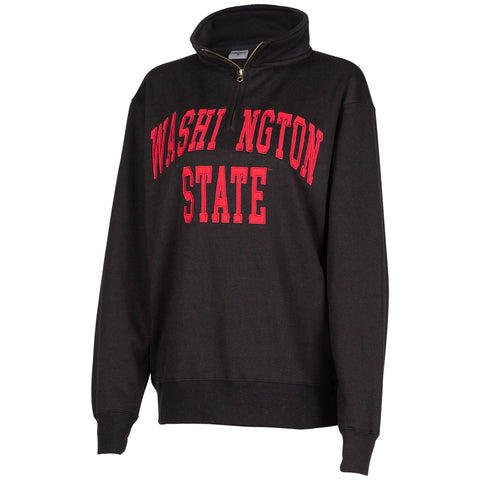 Black Unisex Washington State 1/4 Zip-Up