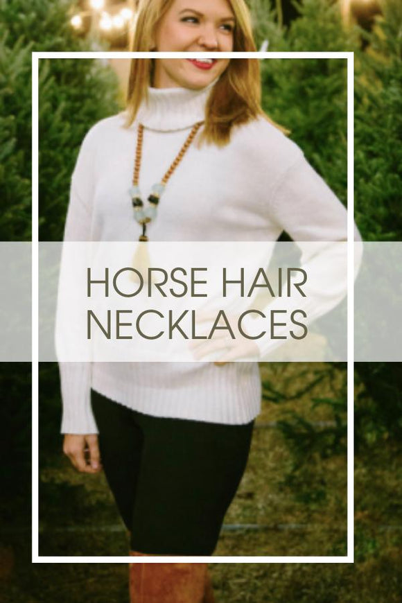 Horse Hair Necklaces