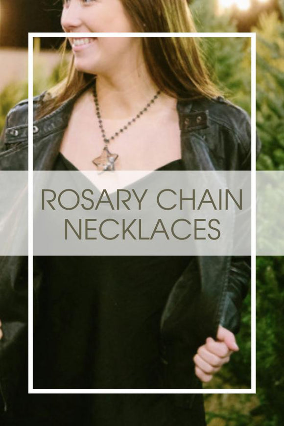 Rosary Chain Necklaces