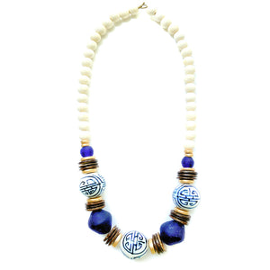 Chinoiserie Bib Necklace