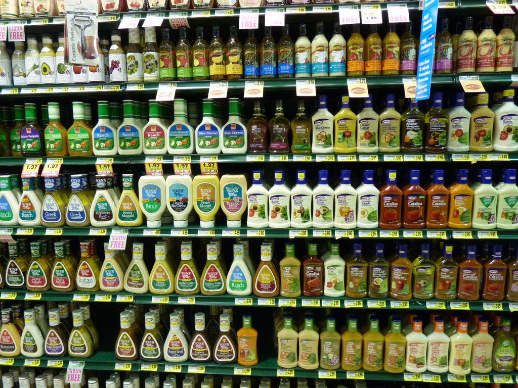Salad dressing is not a health food