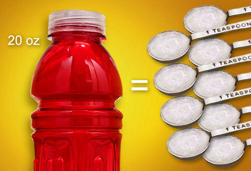 Sports drinks are not a health food